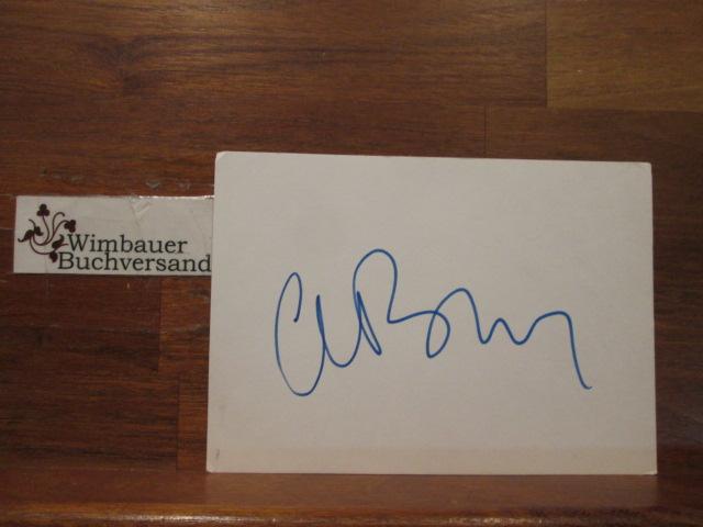 Original Autograph Clive Barker british author (*1952) // Autogramm Autograph signiert signed signee