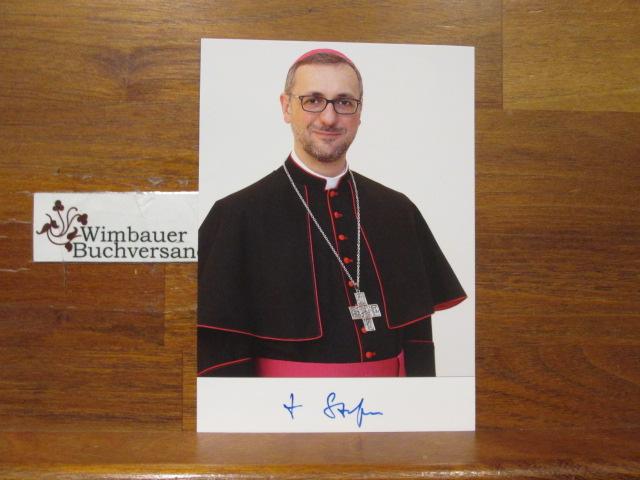 Original Autogramm Stefan Heße Erzbischof von Hamburg /// Autogramm Autograph signiert signed signee