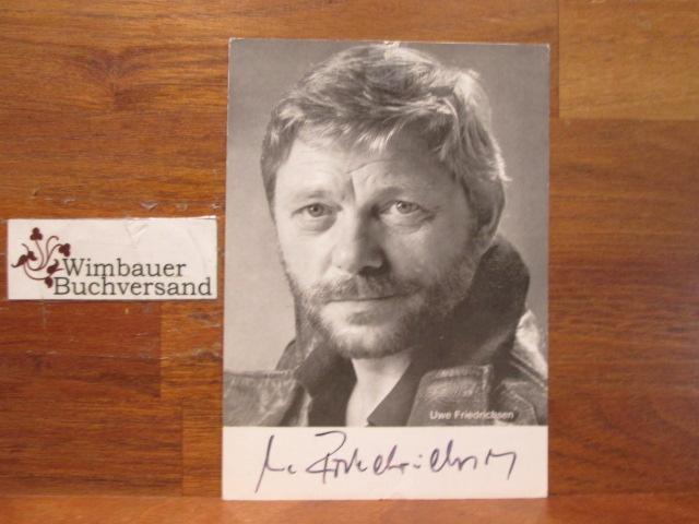 Original Autogramm Uwe Friedrichsen 1934-2016 Schauspieler /// Autogramm Autograph signiert signed signee