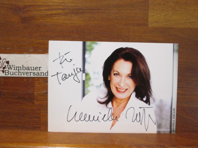 Original Autogramm Daniela Ziegler /// Autogramm Autograph signiert signed signee