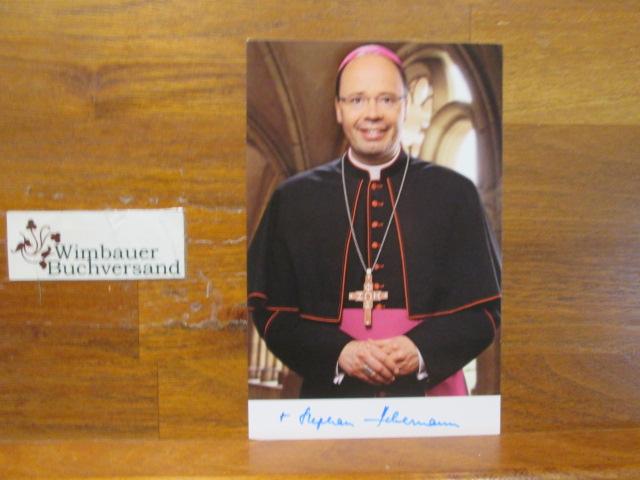 Original Autogramm Stephan Ackermann /// Bischof Trier /// Autogramm Autograph signiert signed signee