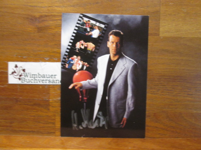 Original Autogramm Henry Maske Boxer *1964 /// Autogramm Autograph signiert signed signee