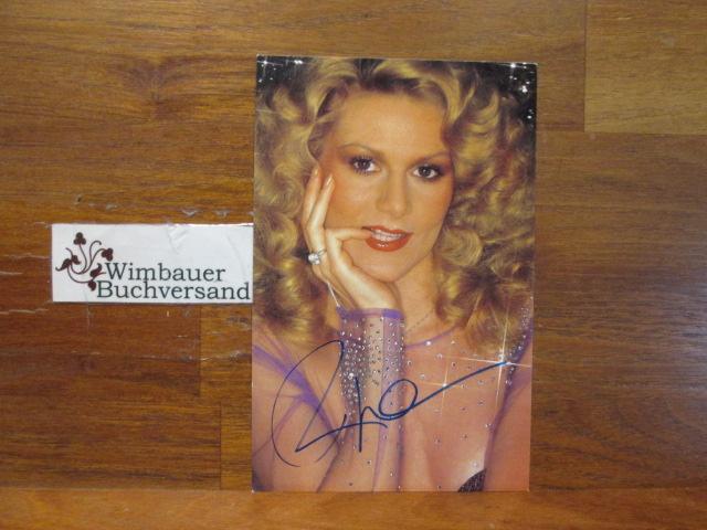 Original Autogramm Peggy March /// Autogramm Autograph signiert signed signee