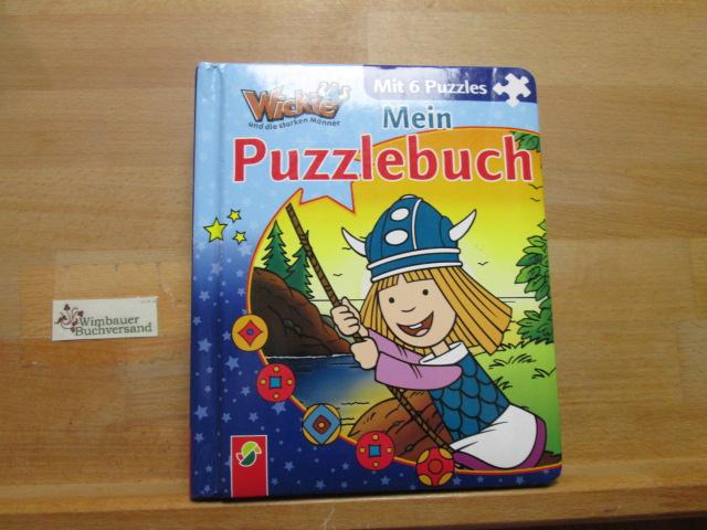 Mein Puzzlebuch Wickie und die starken Männer mit 6 Puzzles