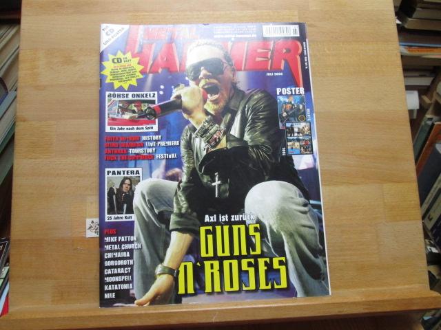 Metal Hammer Juli 2006 Guns