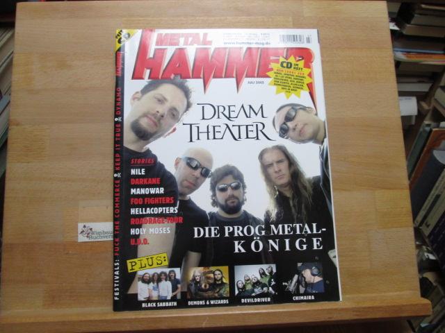Metal Hammer Juli 2005 Dream Theater Black Sabbath Demon & Wizards Devildriver Chimaira Nile Darkane Manowar Foo Fighters Hellacopter Roadrage-Tour Holy Moses U.D.O.