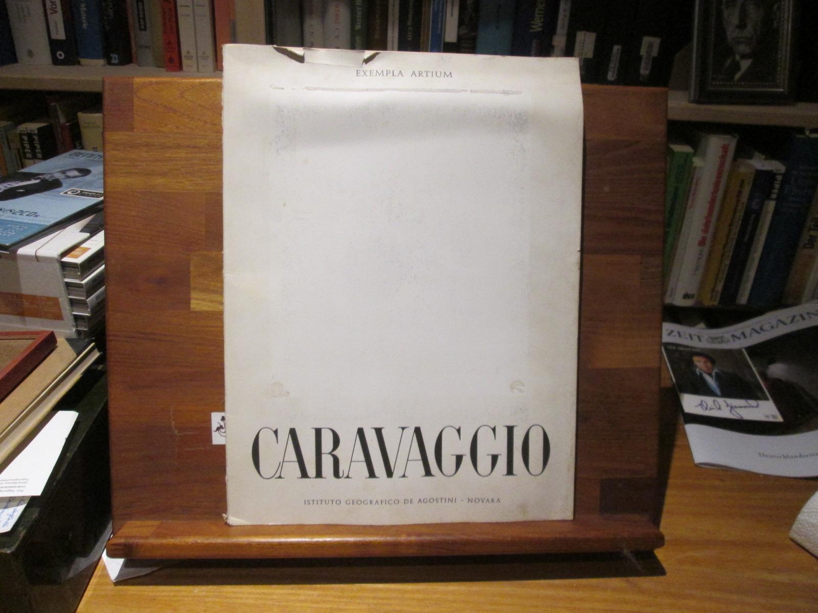 Caravaggio. Caravaggio. [Einl.:] Carlo Basso / Exempla artium