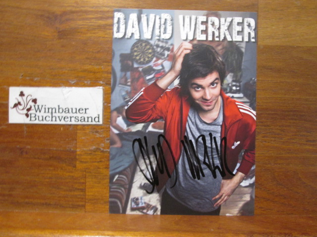 Werker, David : Original Autogramm David Werker /// Autogramm Autograph signiert signed signee