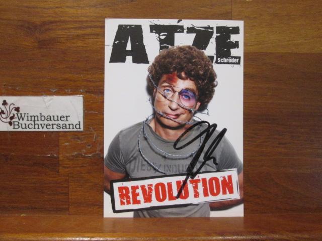 Original Autogramm Atze Schröder /// Autogramm Autograph signiert signed signee