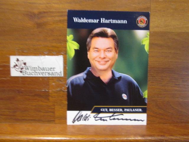Original Autogramm Waldemar Hartmann /// Autogramm Autograph signiert signed signee