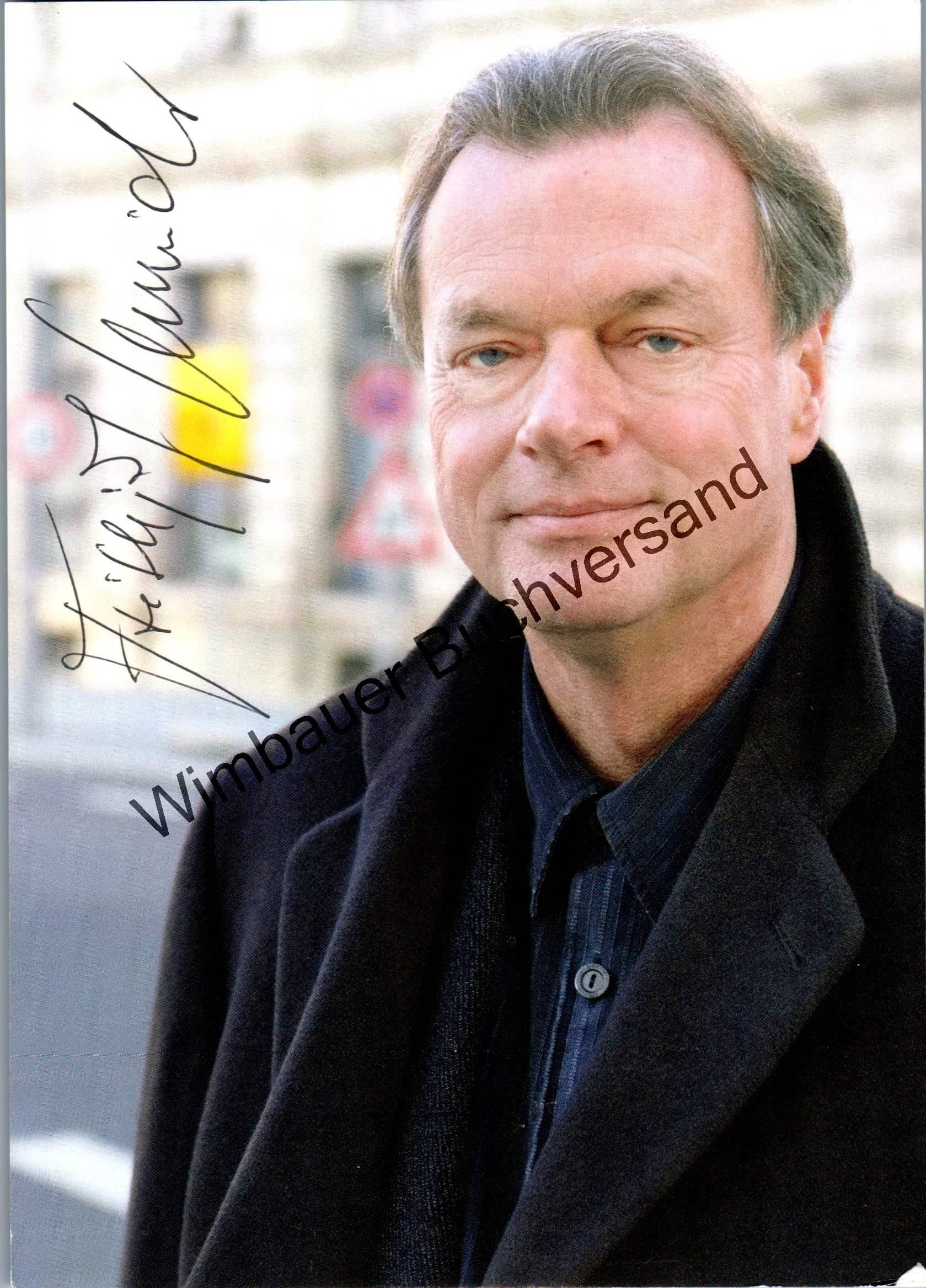 Original Autogramm Frithjof Schmidt MdB Die Grünen /// Autogramm Autograph signiert signed signee
