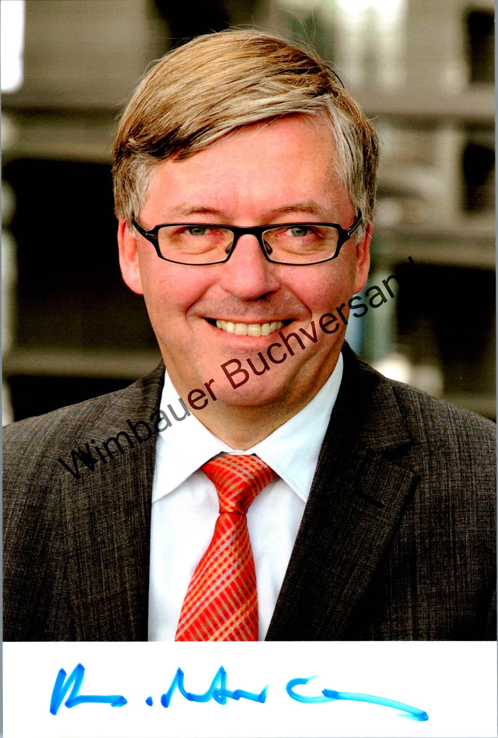 Original Autogramm Hans-Peter Bartels MdB SPD Wehrbeauftrager /// Autogramm Autograph signiert signed signee