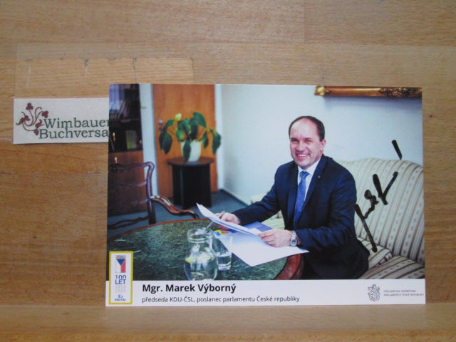 Original Autogramm Marek Vyborny /// Autogramm Autograph signiert signed signee