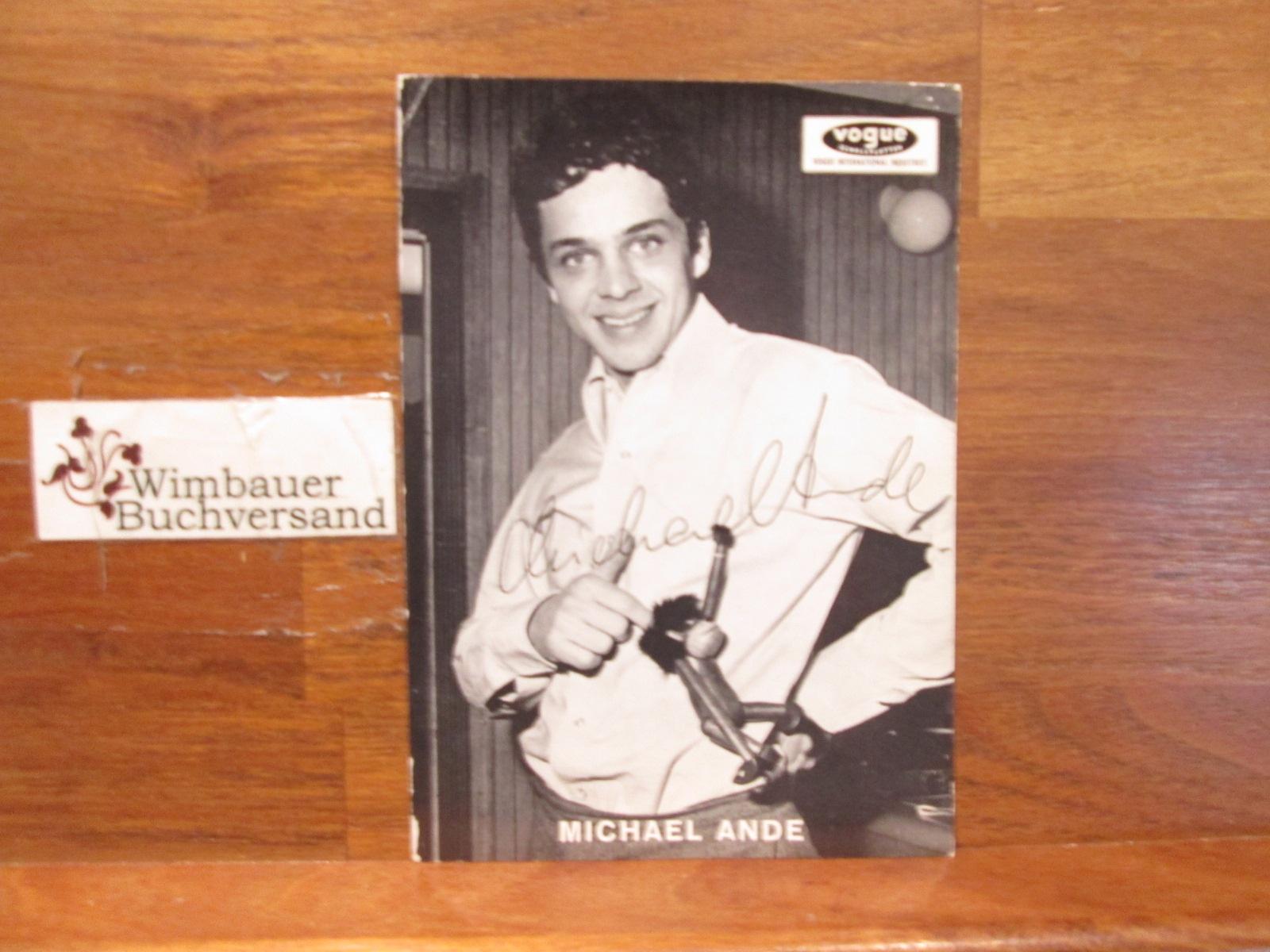 Original Autogramm Michael Ande /// Autogramm Autograph signiert signed signee