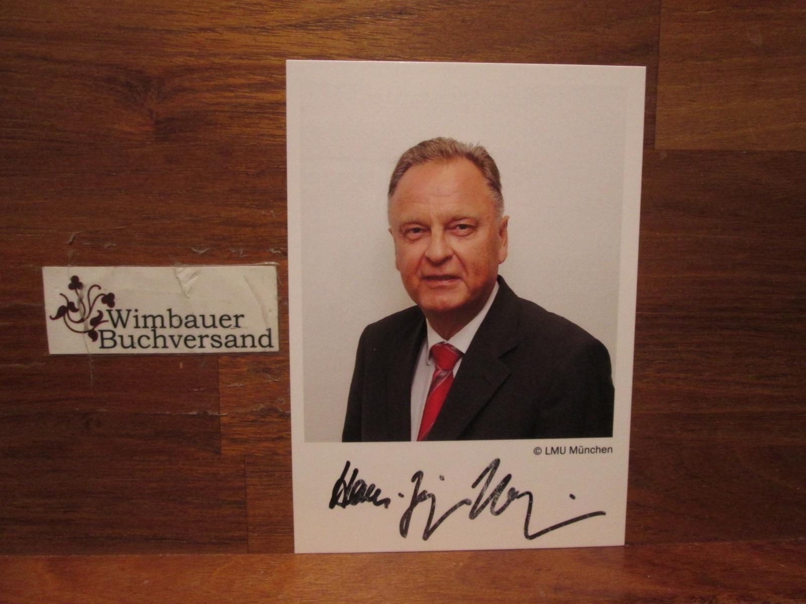 Original Autogramm Hans-Jürgen Papier Präsident Bundesverfassungsgericht /// Autogramm Autograph signiert signed signee