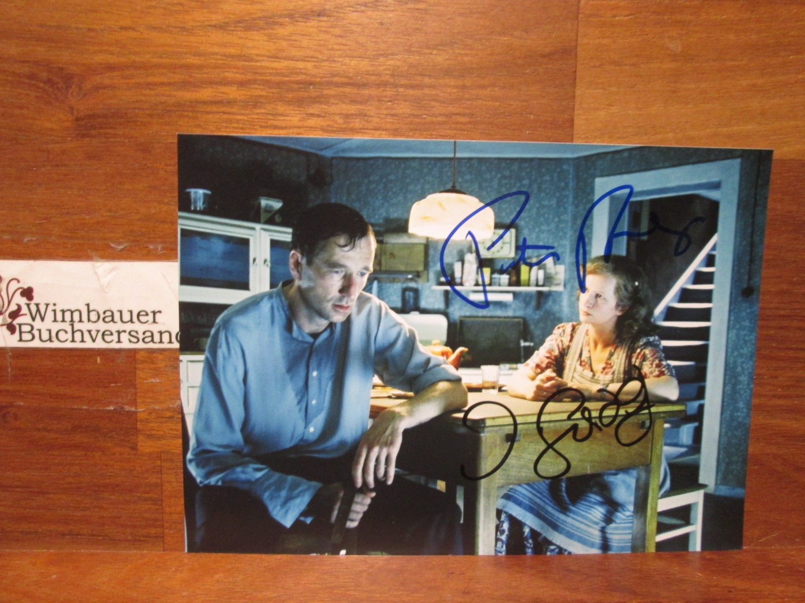 Original Autogramm Peter Lohmeyer & Johanna Gastdorf /// Autogramm Autograph signiert signed signee