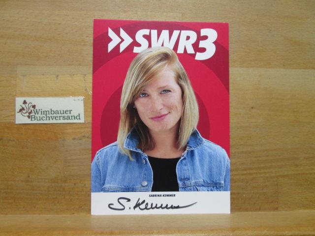 Original Autogramm Sabrina Kemmer SWR3 /// Autogramm Autograph signiert signed signee
