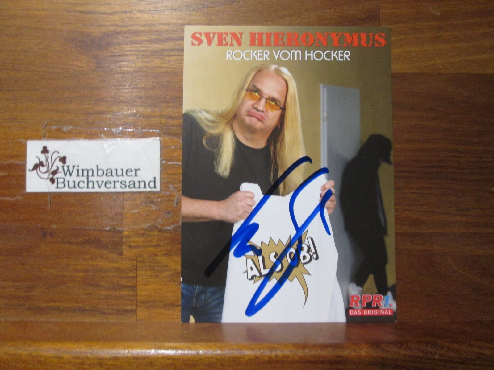 Original Autogramm Sven Hieronymus /// Autogramm Autograph signiert signed signee