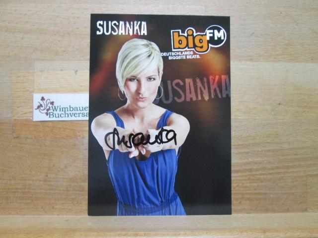 Original Autogramm Susanka Kröger  Big FM /// Autogramm Autograph signiert signed signee
