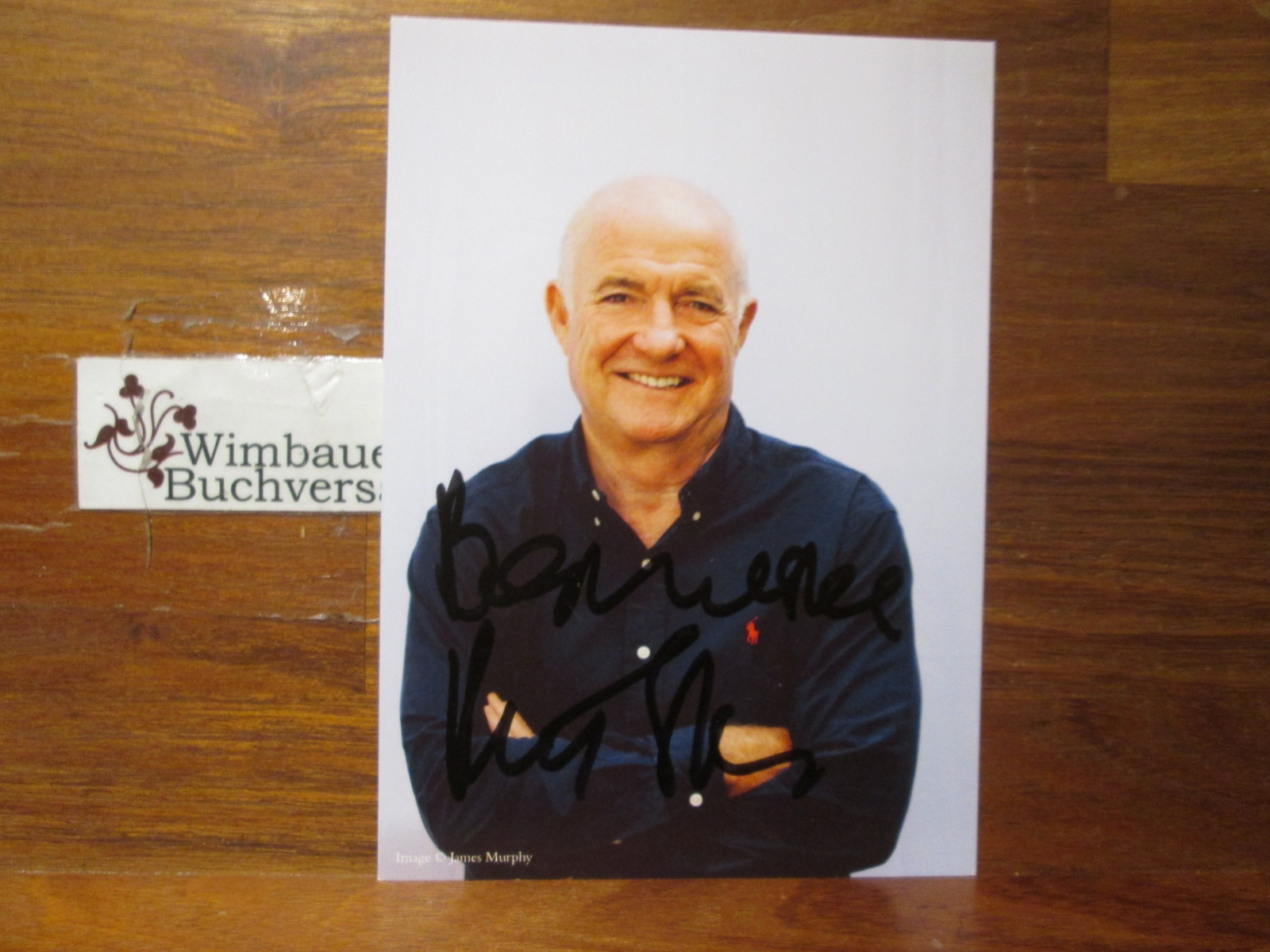 Original Autograph Rick Stein Celebrity Chef Starkoch /// Autogramm Autograph signiert signed signee