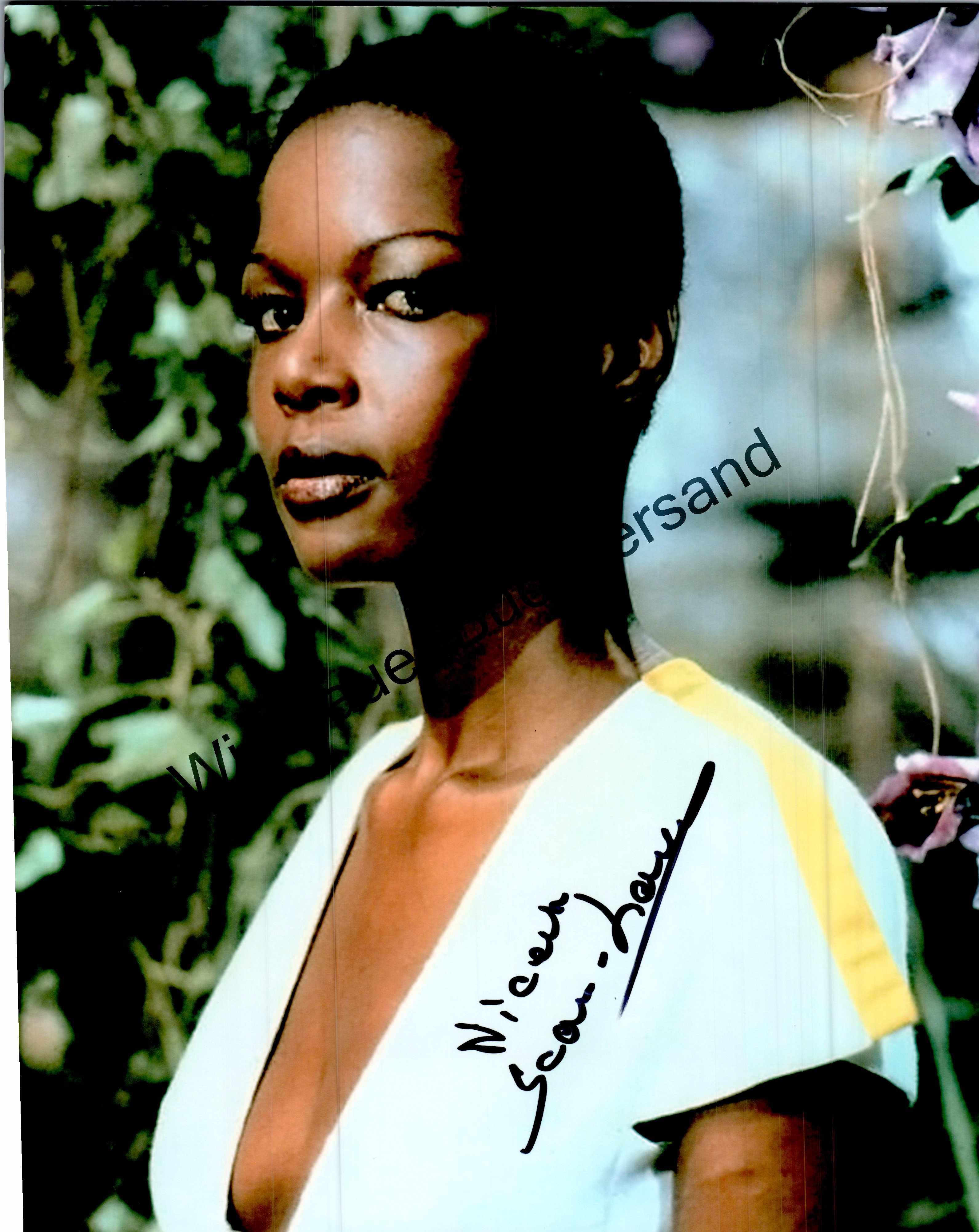 Original Autograph Jean-Louise Nicaise James Bond COA /// Autogramm Autograph signiert signed signee