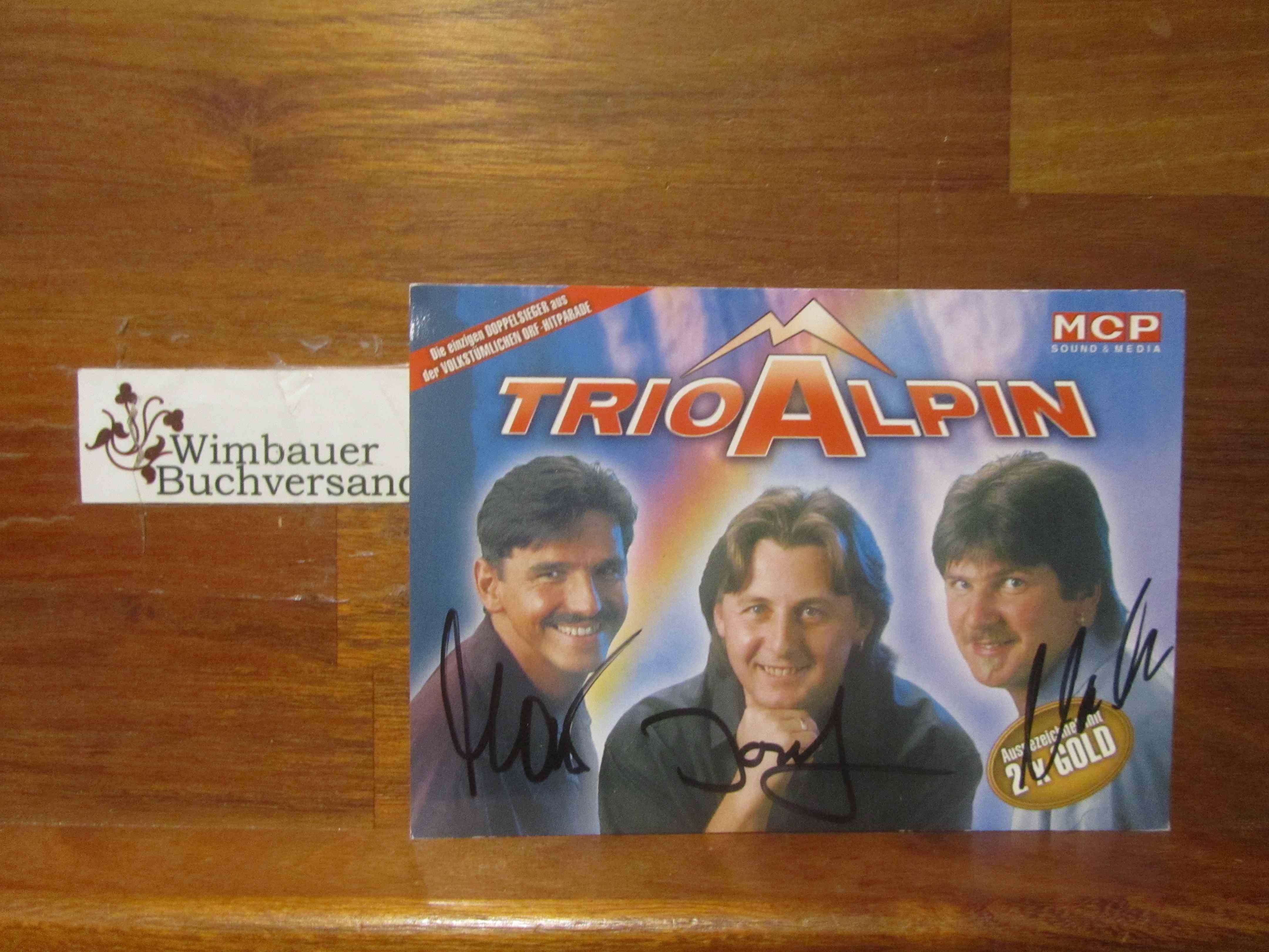 Original Autogramm Trio Alpin /// Autogramm Autograph signiert signed signee