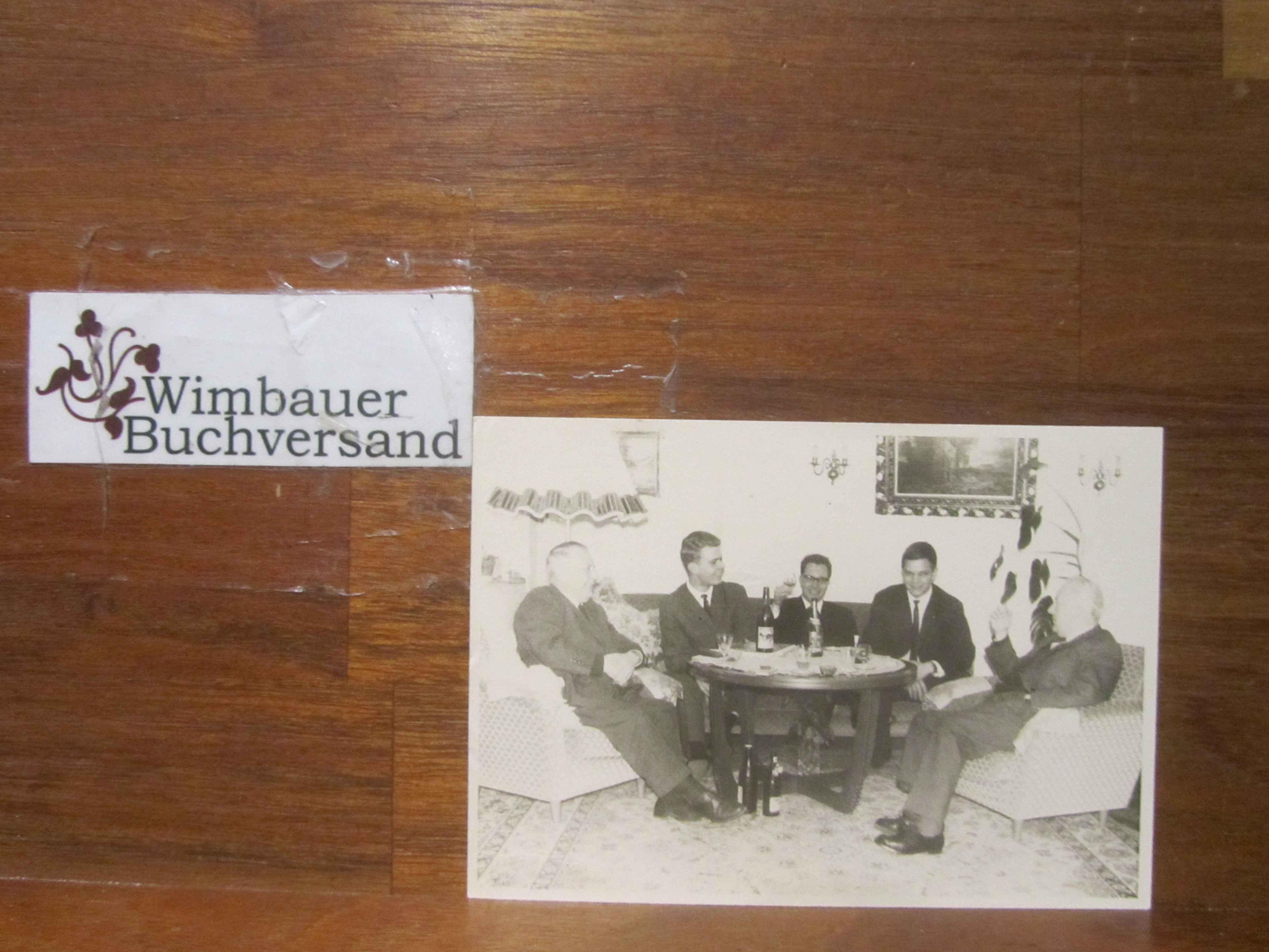 Photo einer Gruppe Theologen 1964