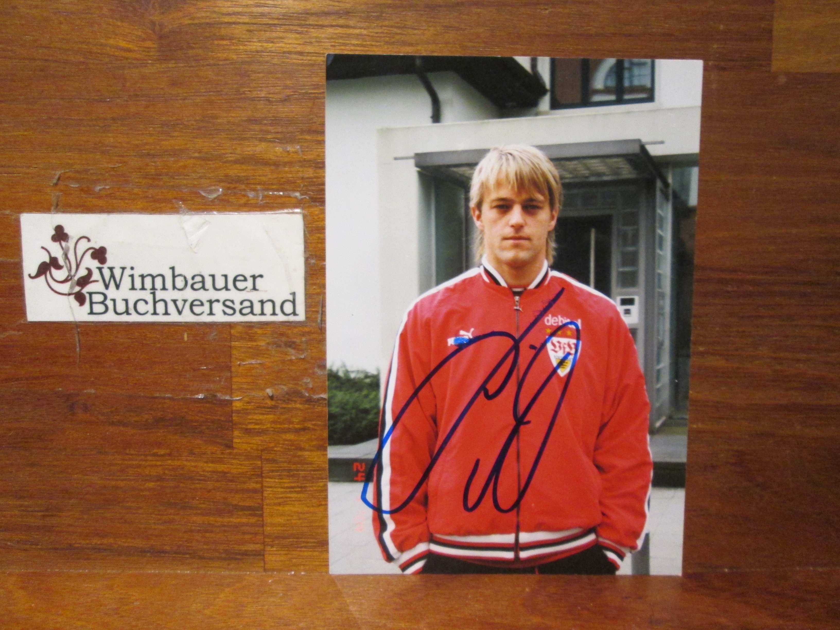 Original Autogramm Timo Hildebrand Torwart /// Autogramm Autograph signiert signed signee