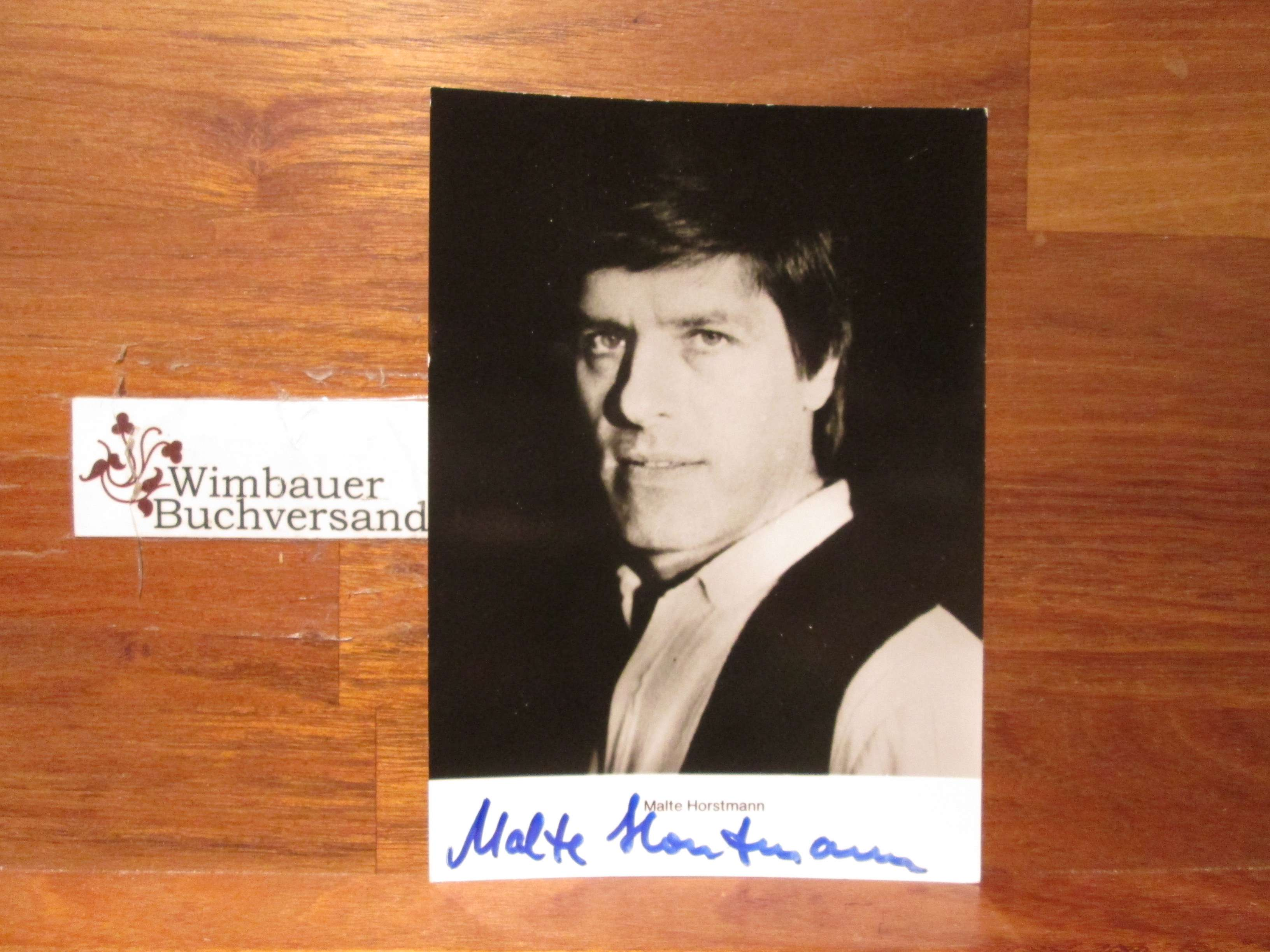 Original Autogramm Malte Horstmann /// Autogramm Autograph signiert signed signee