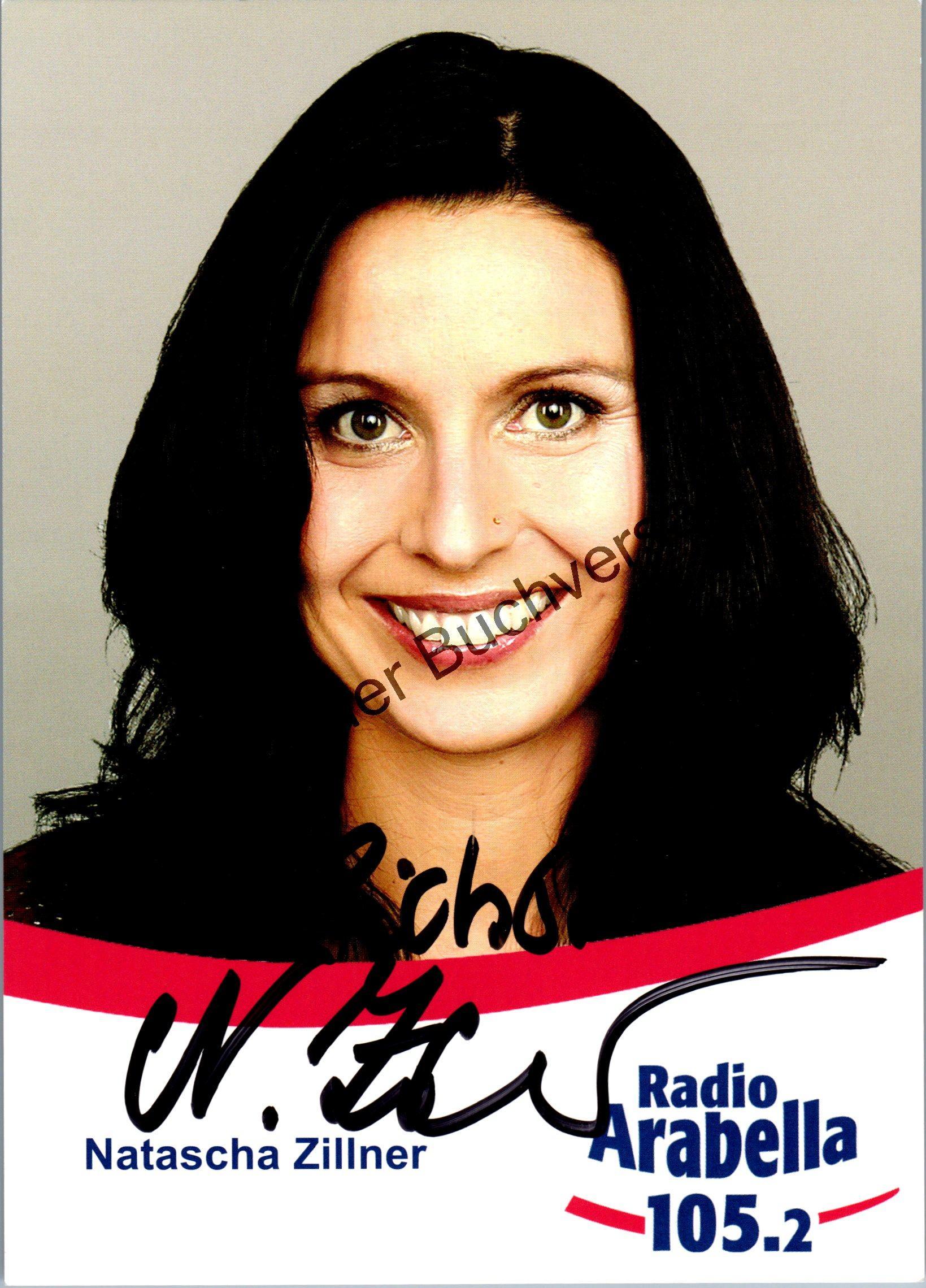 Original Autogramm Natascha Zillner Radio Arabella Moderatorin /// Autogramm Autograph signiert signed signee