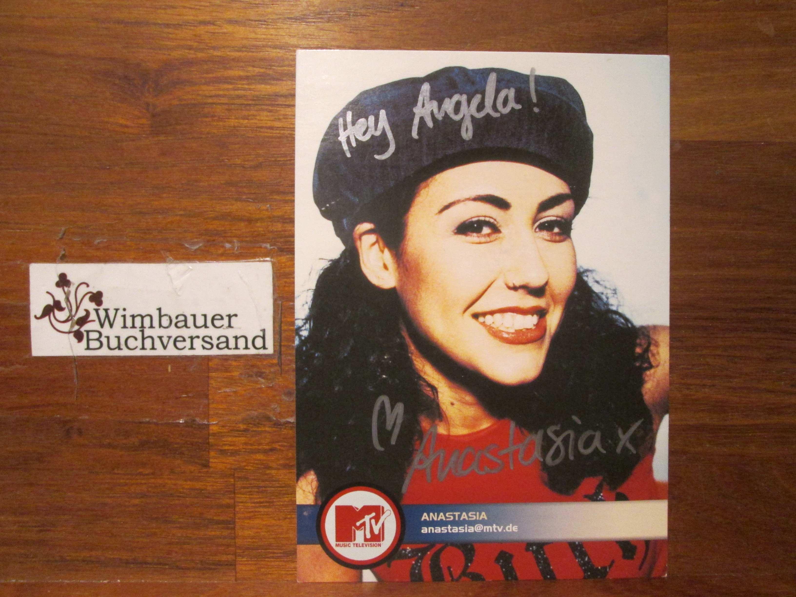 Original Autogramm Anastasia Zampounidis MTV /// Autograph signiert signed signee