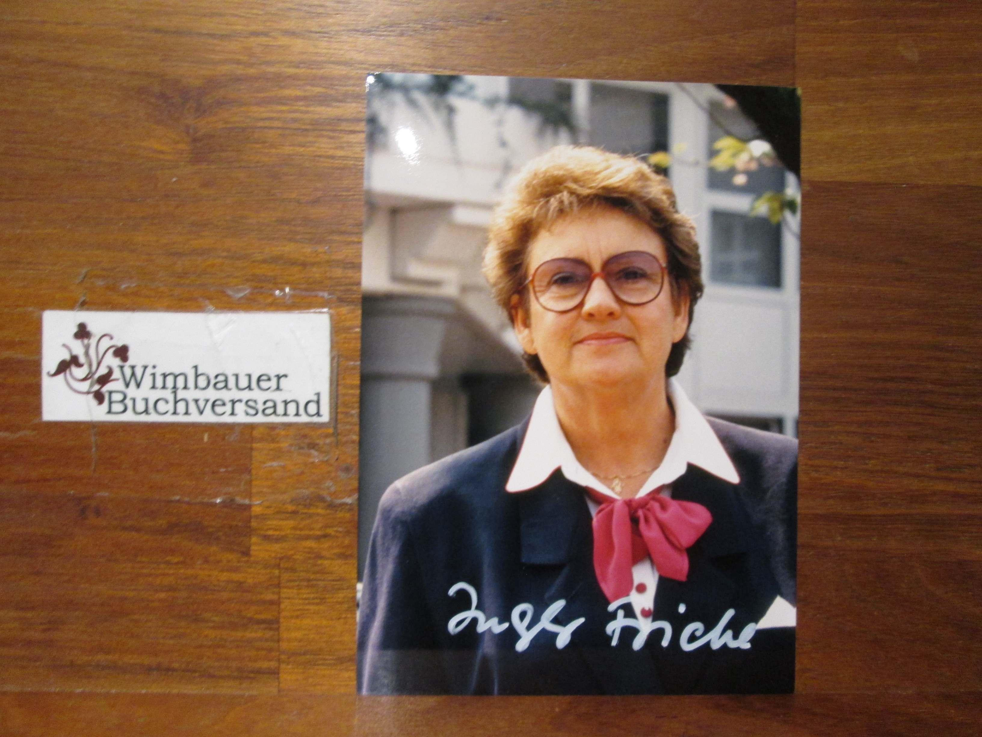 Friebe, Ingeborg Landtagspräsidentin NRW : Original Autogramm Ingeborg Friebe Landtagspräsidentin /// Autogramm Autograph signiert signed signee