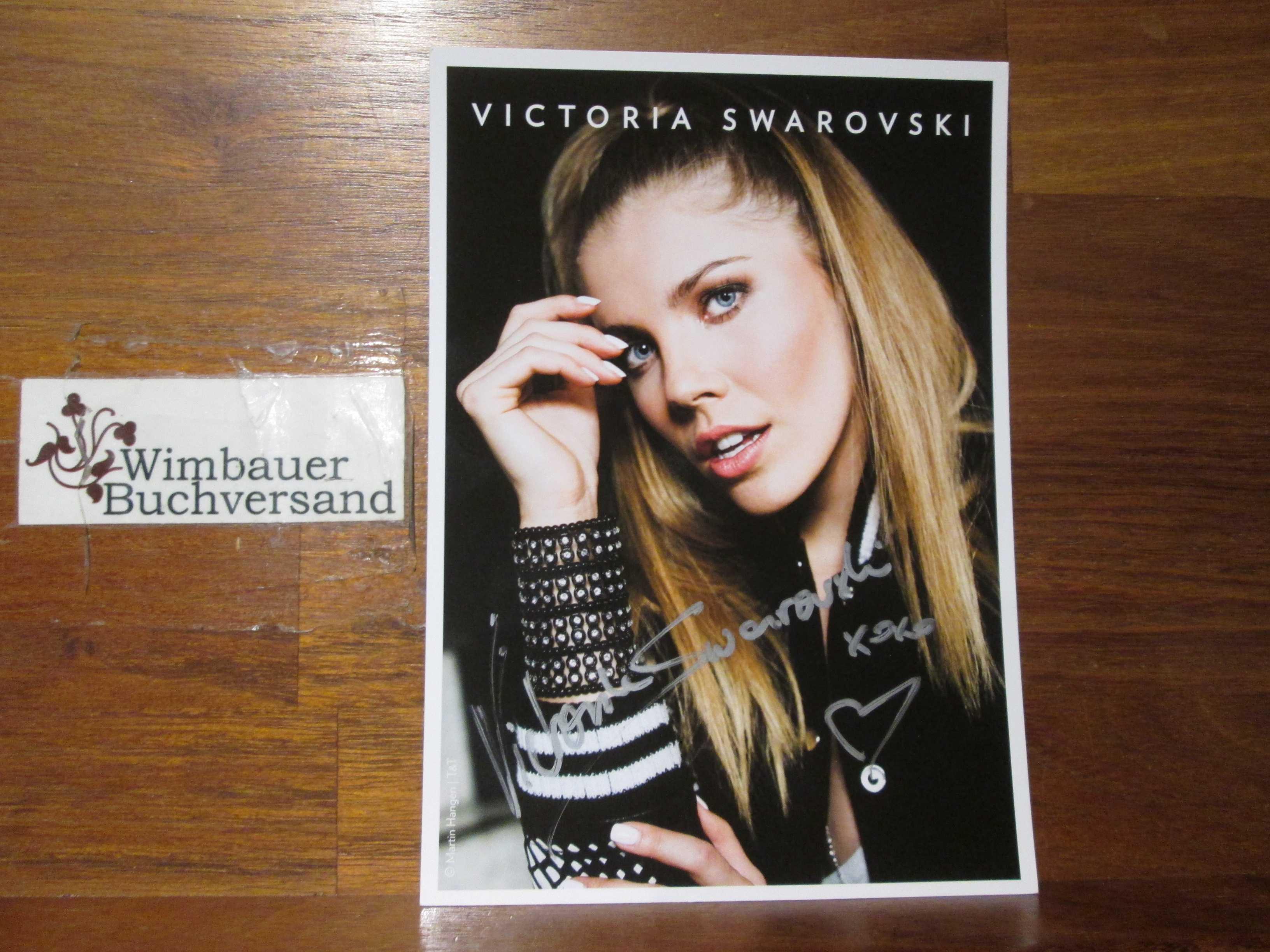 Original Autogramm Victoria Swarovski /// Autograph signiert signed signee
