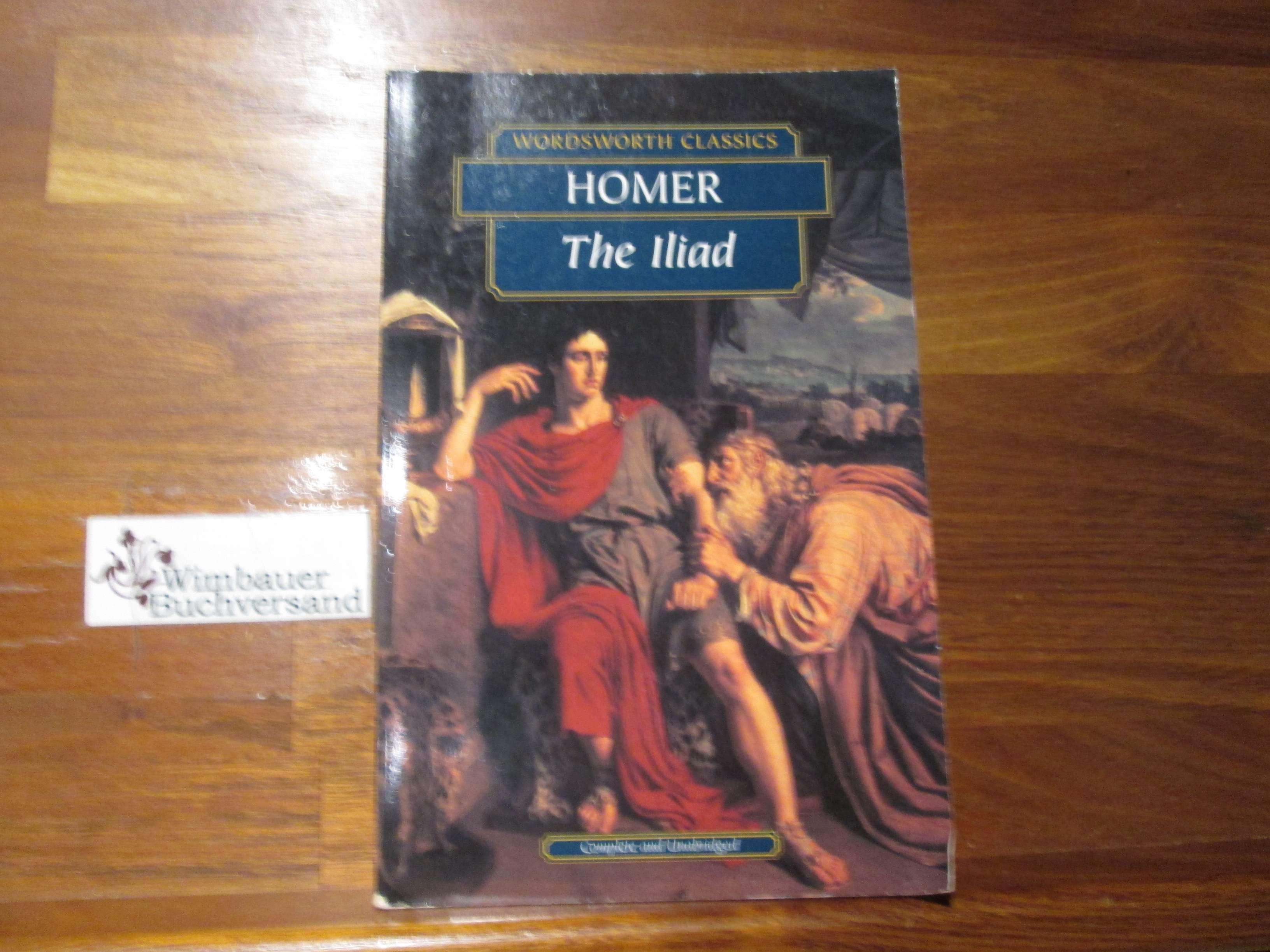 Iliad (Wadworth Collection) Auflage: Auflage: New edition