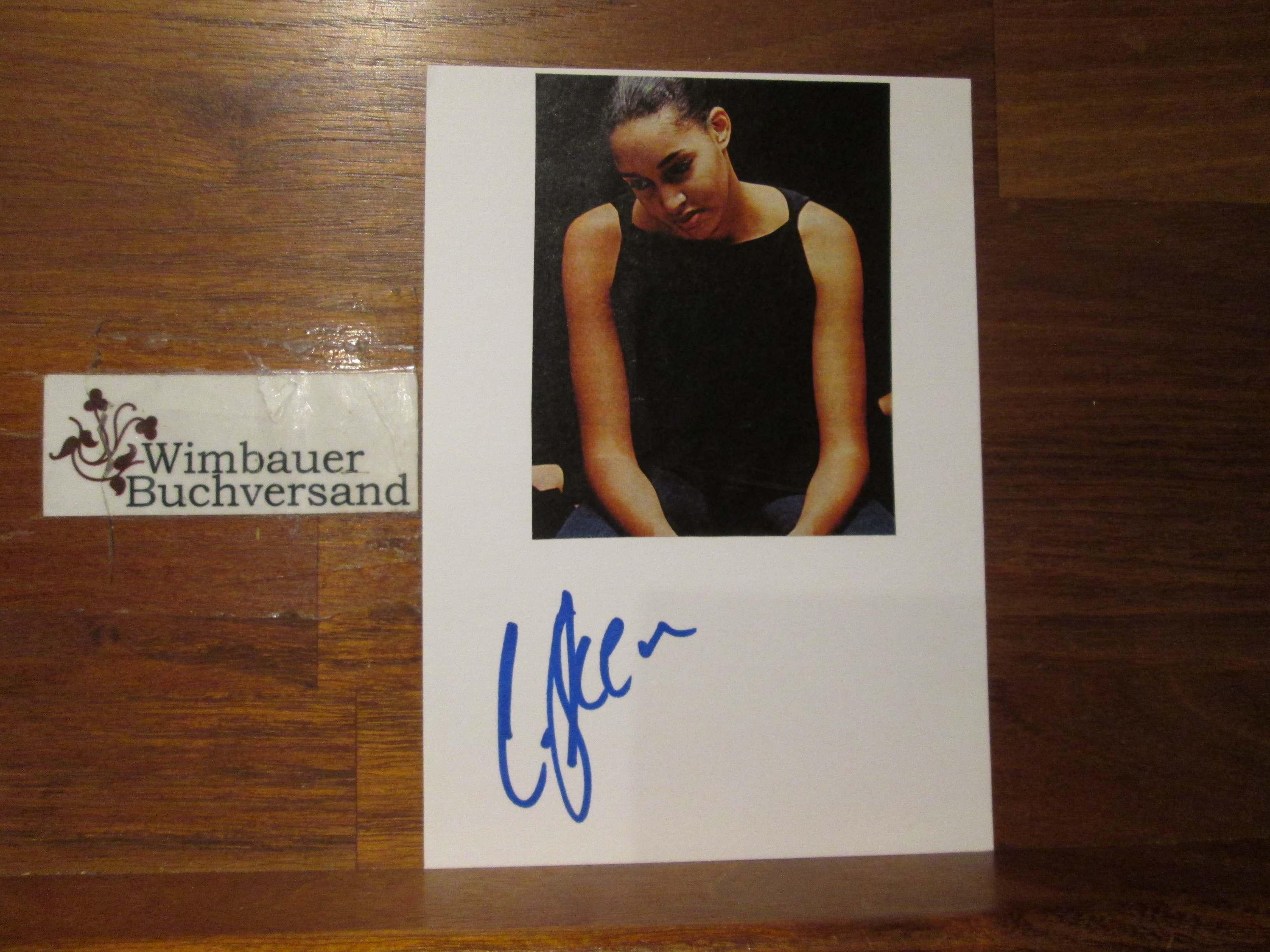 Original Autogramm Cassandra Steen /// Autogramm Autograph signiert signed signee