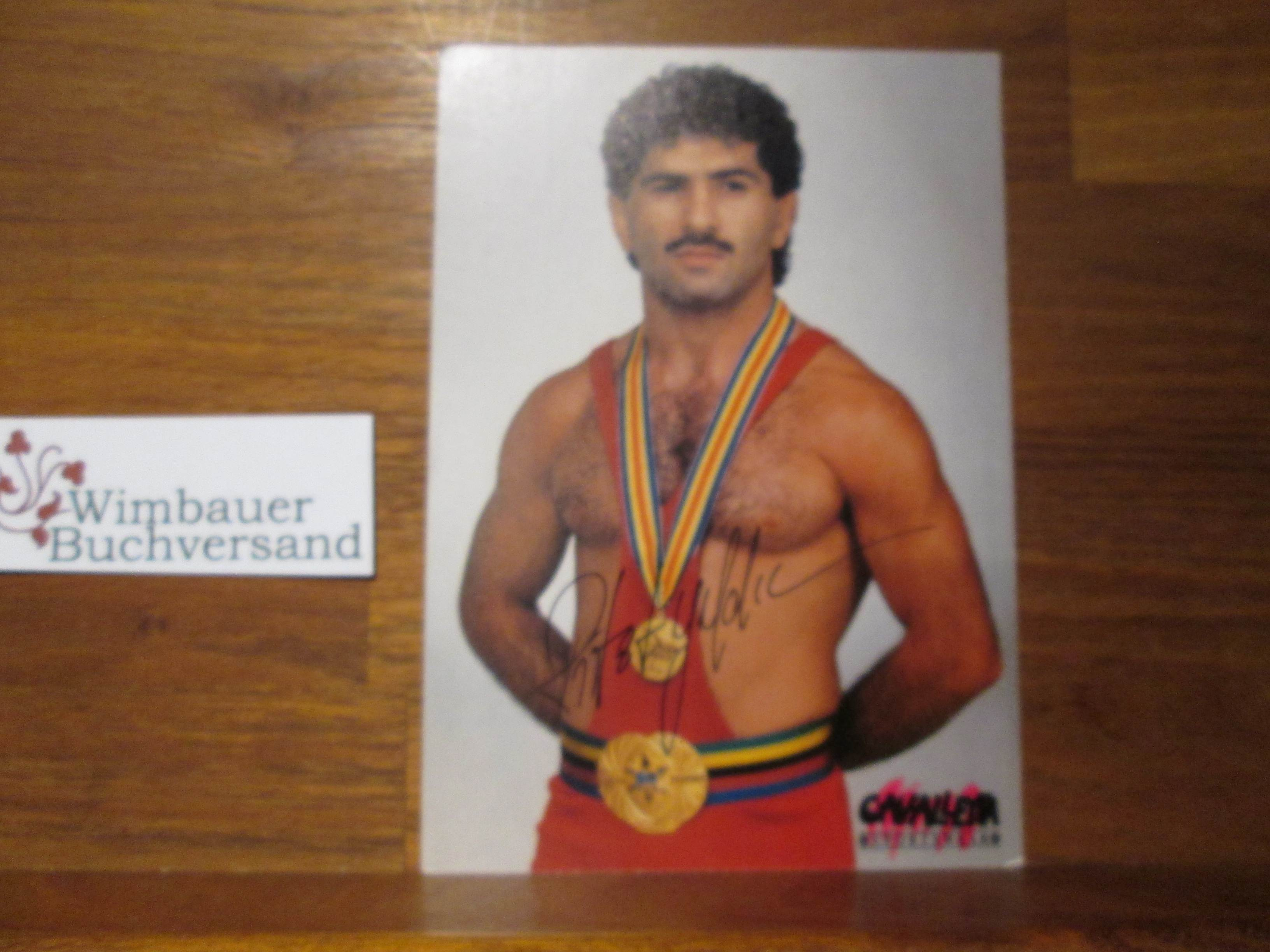 Original Autogramm Rifat Yildiz Ringen Olympia Weltmeister /// Autograph signiert signed signee