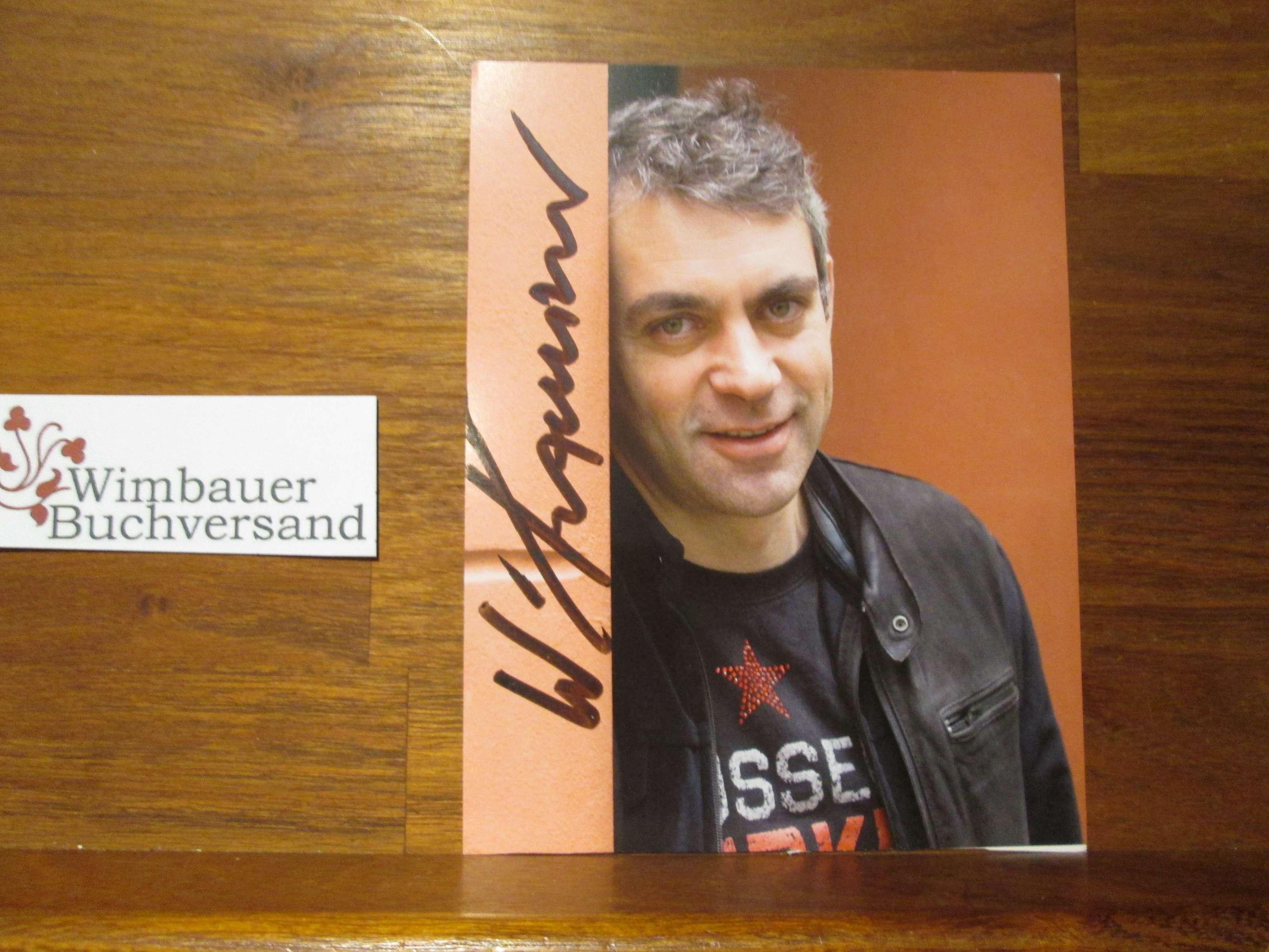 Original Autogramm Wladimir Kaminer /// Autograph signiert signed signee