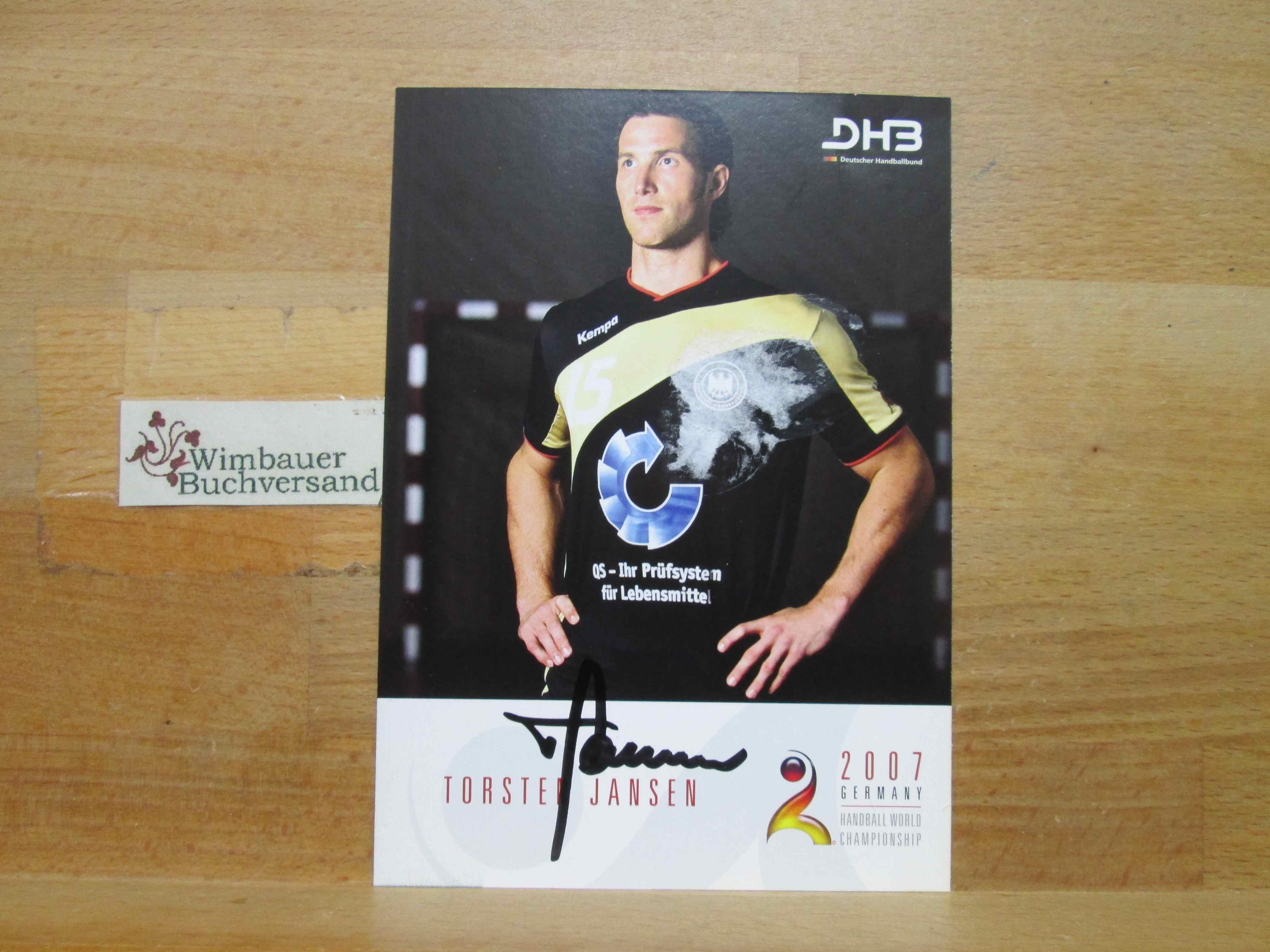 Original Autogramm Torsten Jansen Handball /// Autograph signiert signed signee Nationalmannschaft 2007