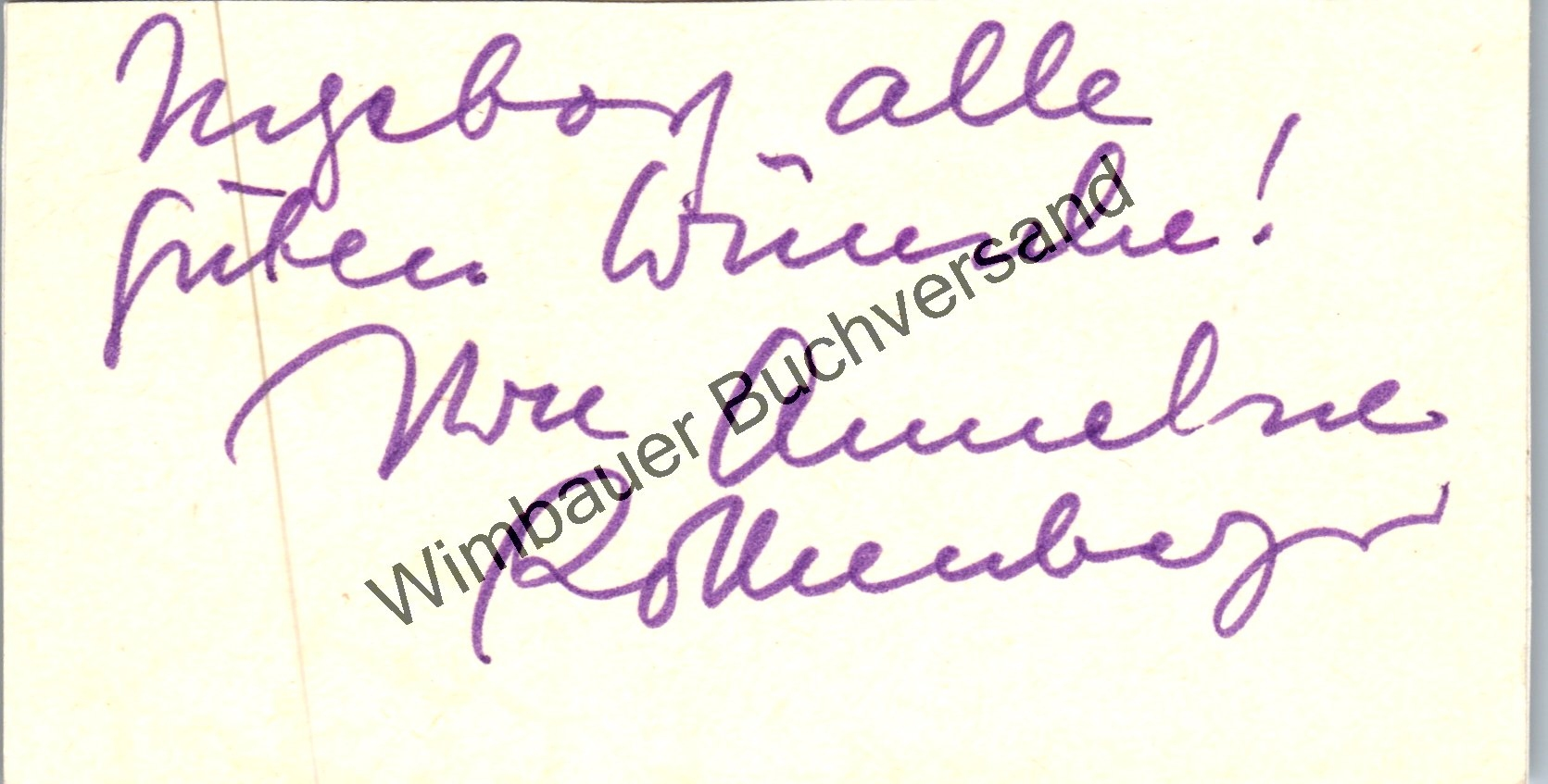 Original Autogramm Anneliese Rothenberger (1919-2010) /// Autograph signiert signed signee