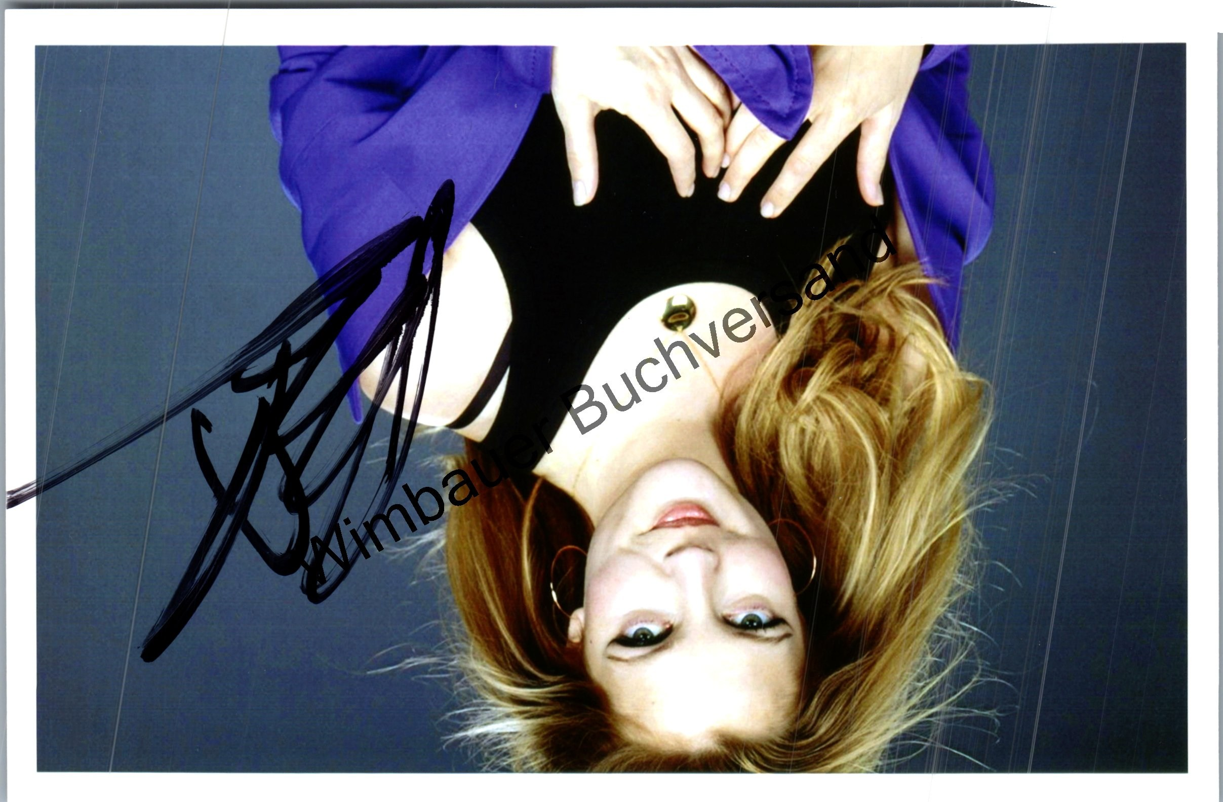 Autograph Drew Barrymore (american Actress *1975) /// Autogramm Autograph signiert signed signee