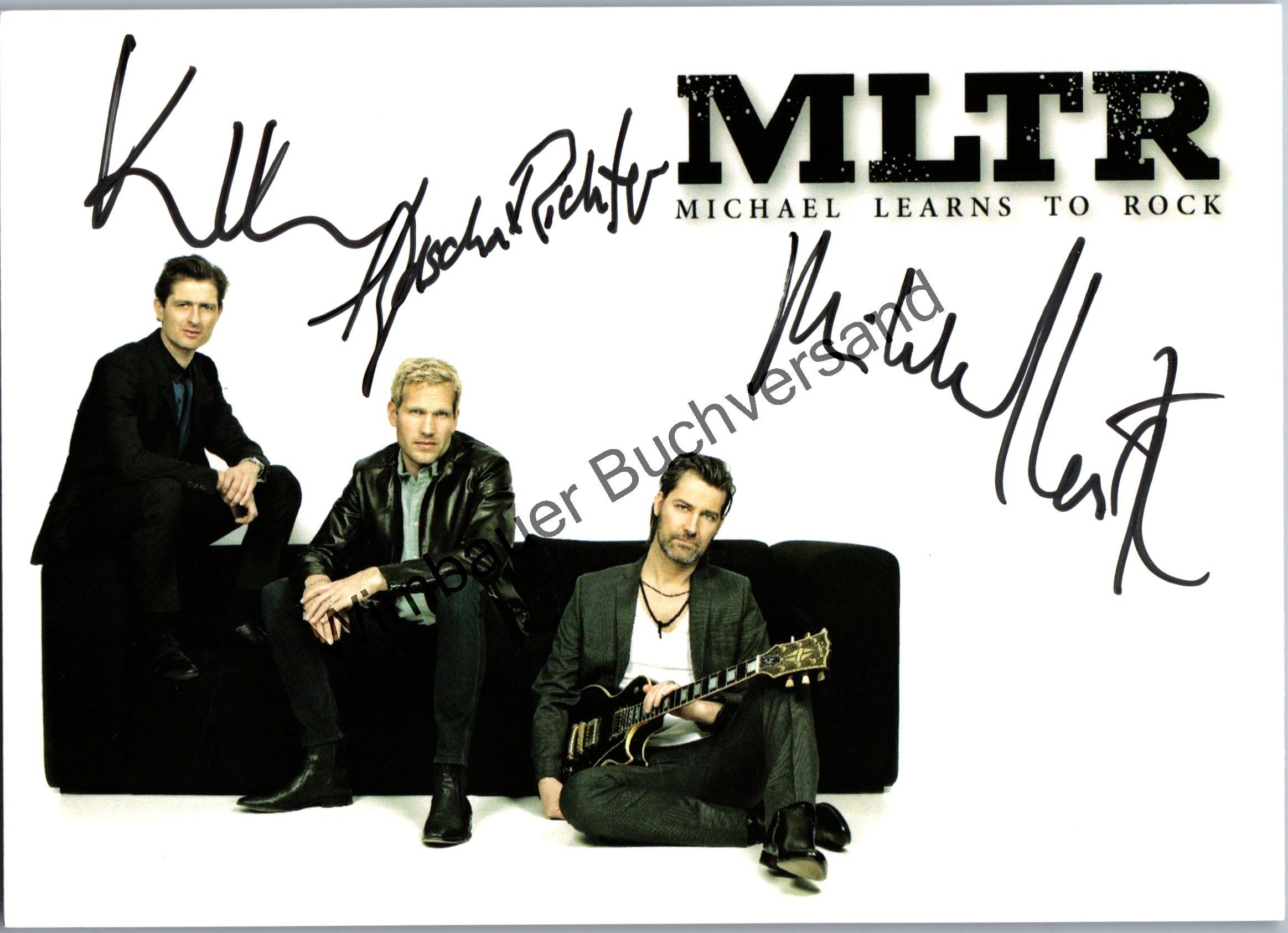 Original Autogramm MLTR /// Autograph signiert signed signee