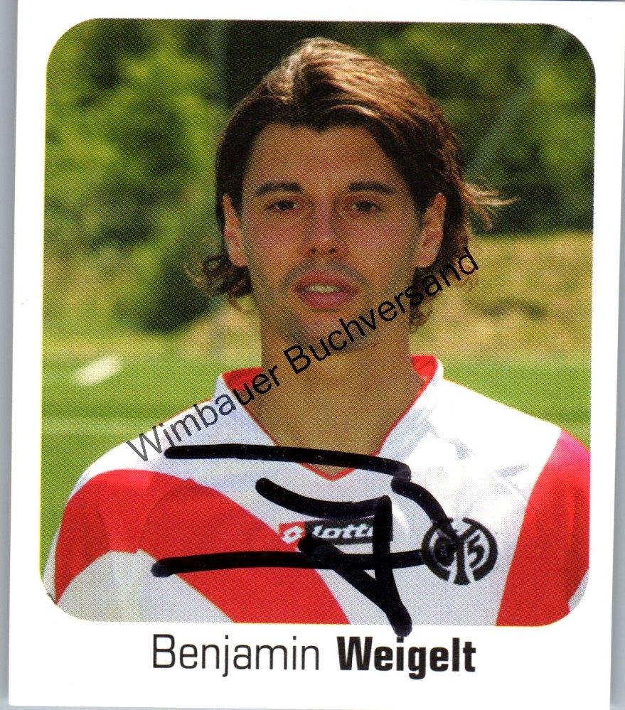 Weigelt, Benjamin : Original Autogramm Benjamin Weigelt Fussball /// Autograph signiert signed signee Saison 2006 / 2007