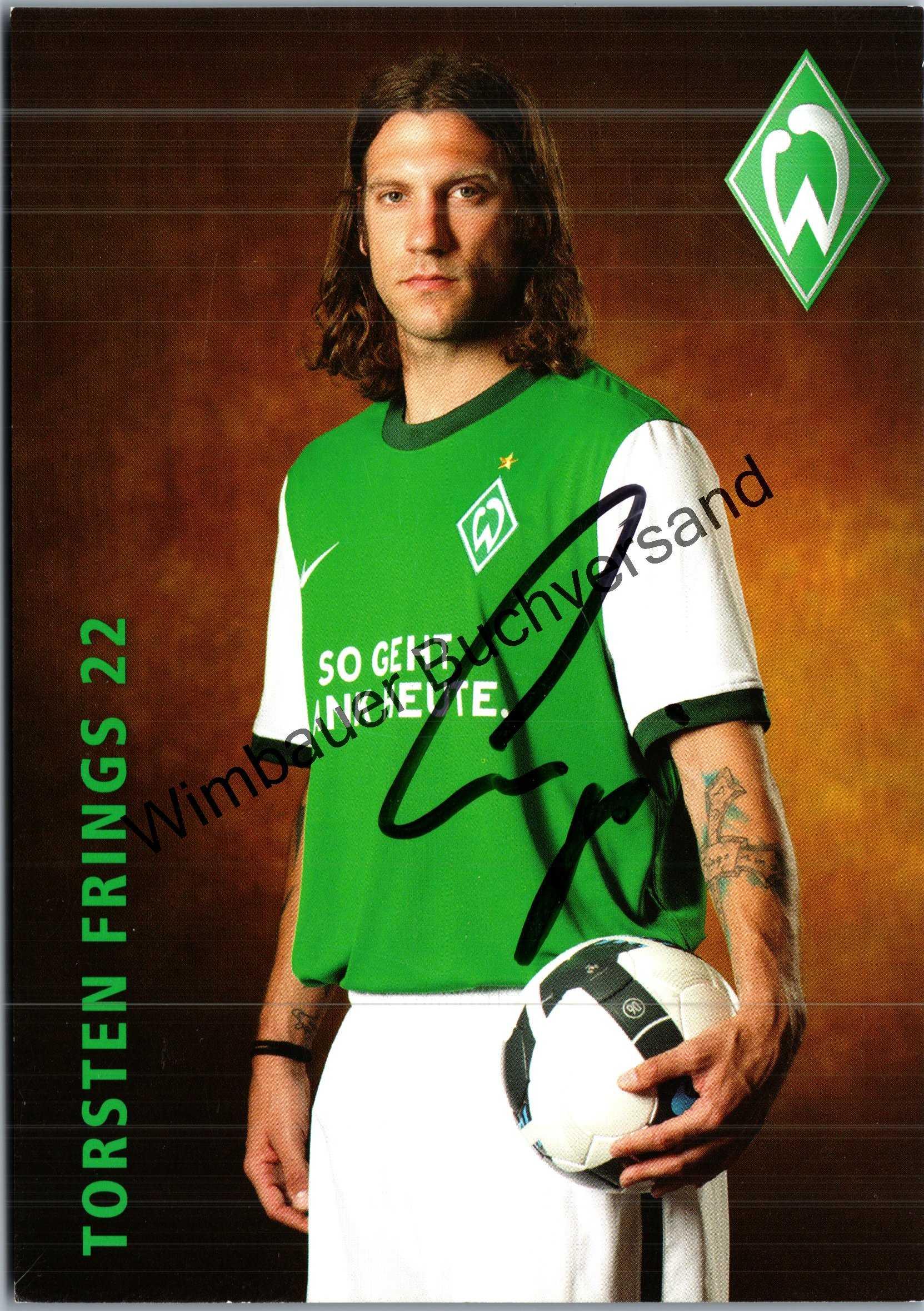 Original Autogramm Torsten Frings /// Autograph signiert signed signee Saison 2009 / 2010