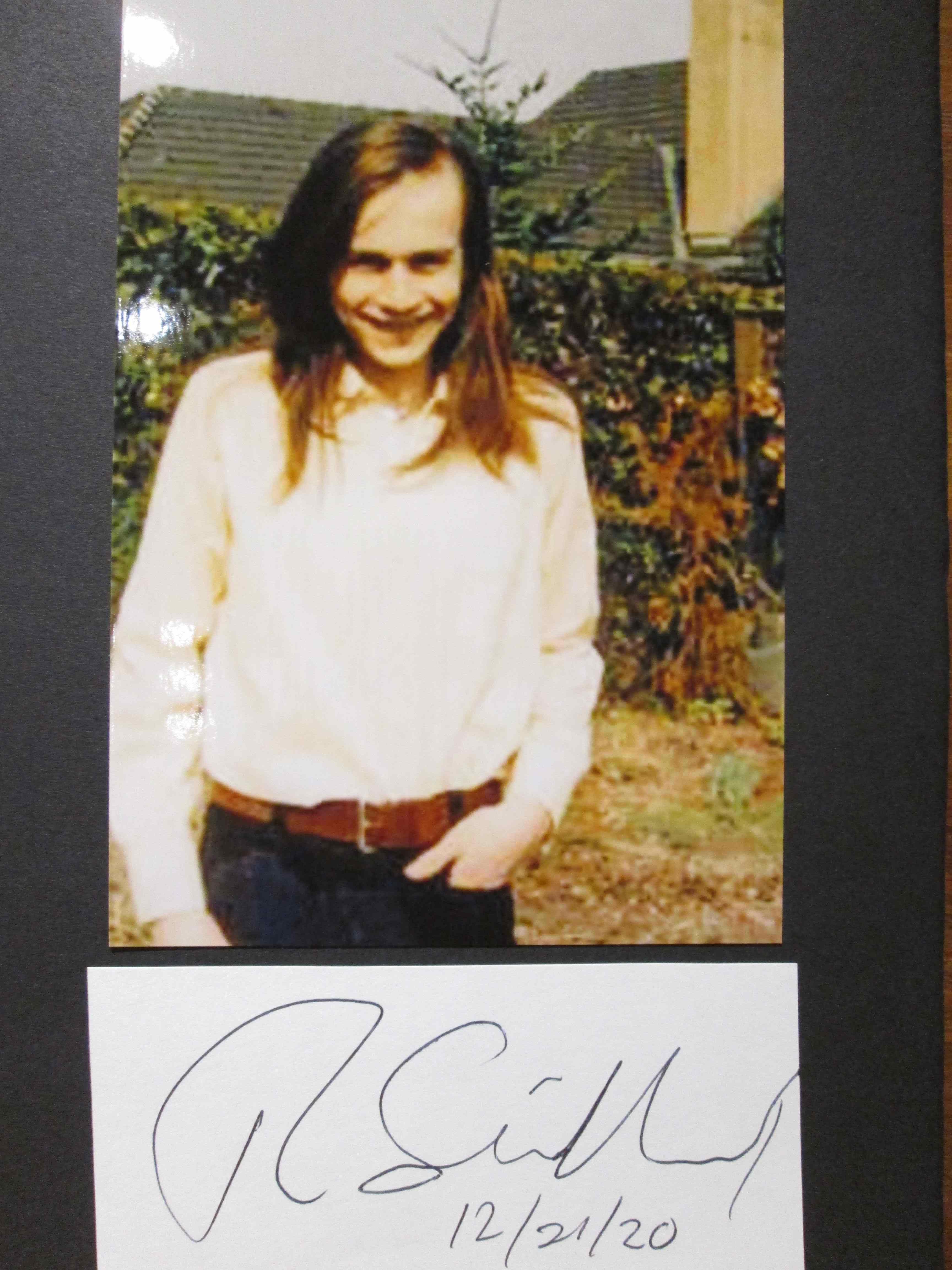 Südhof, Thomas : Thomas Südhof Nobelpreis für Physiologie oder Medizin 2013 // Autogramm Autograph signiert signed signee