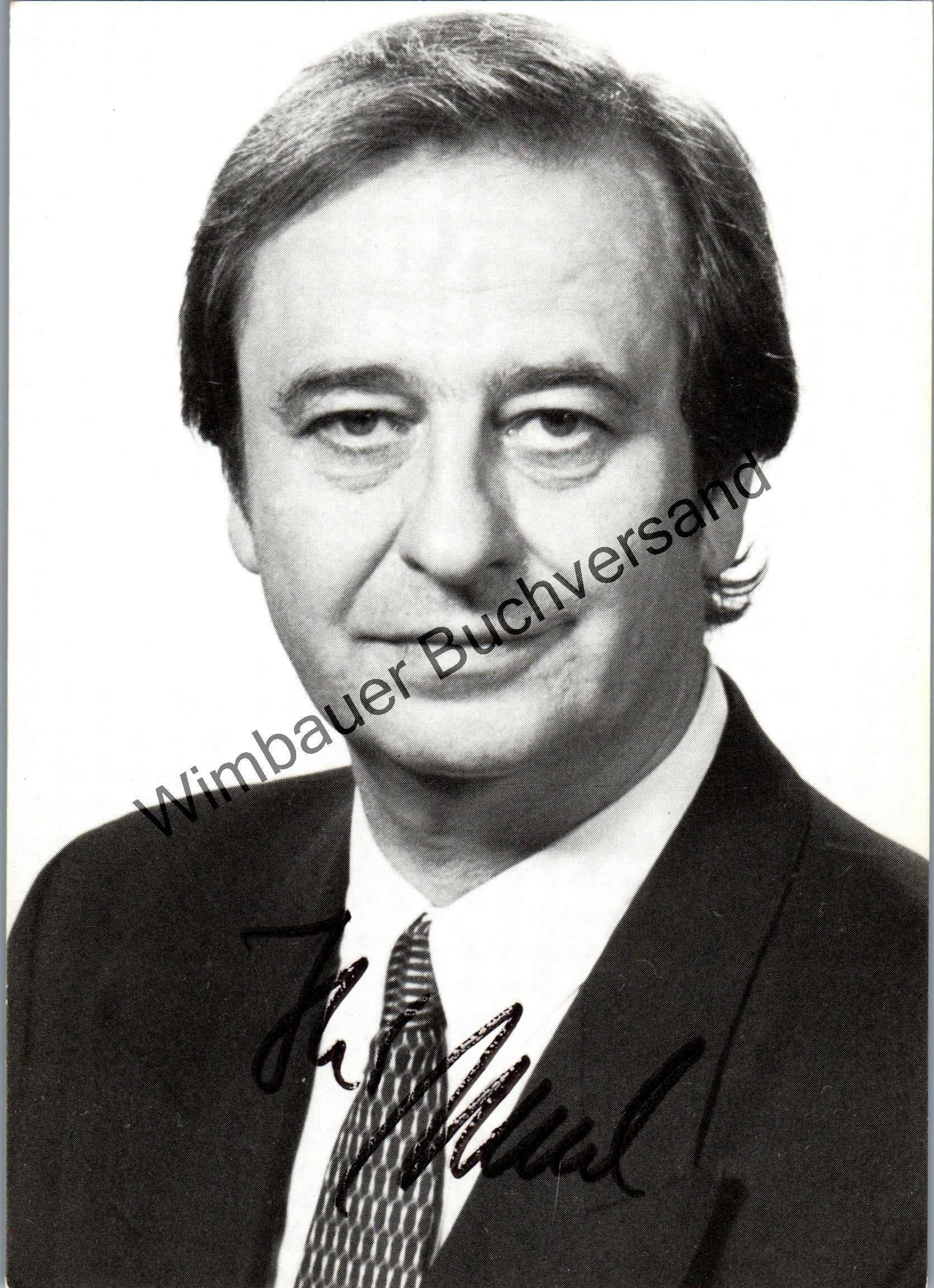 Original Autogramm Kurt Stenzel (1938-2012) SDR /// Autograph signiert signed signee