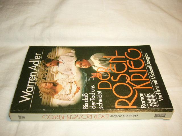 Der Rosenkrieg. Roman.