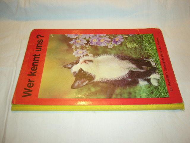 Wer kennt uns? Ein Favorit-Tierbilderbuch für die Kleinen