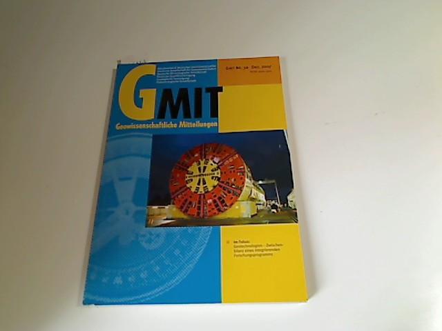 Geowissenschaftliche Mitteilungen GMit. Heft 30, Dezember 2007