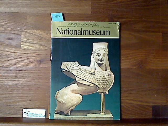 Nationalmuseum Andronicos, Manolis und Stelios [�bers.] Lydakes :