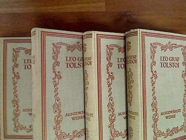 Ausgewählte Werke in vier Bänden. Eingeleitet von Karl Weitzel